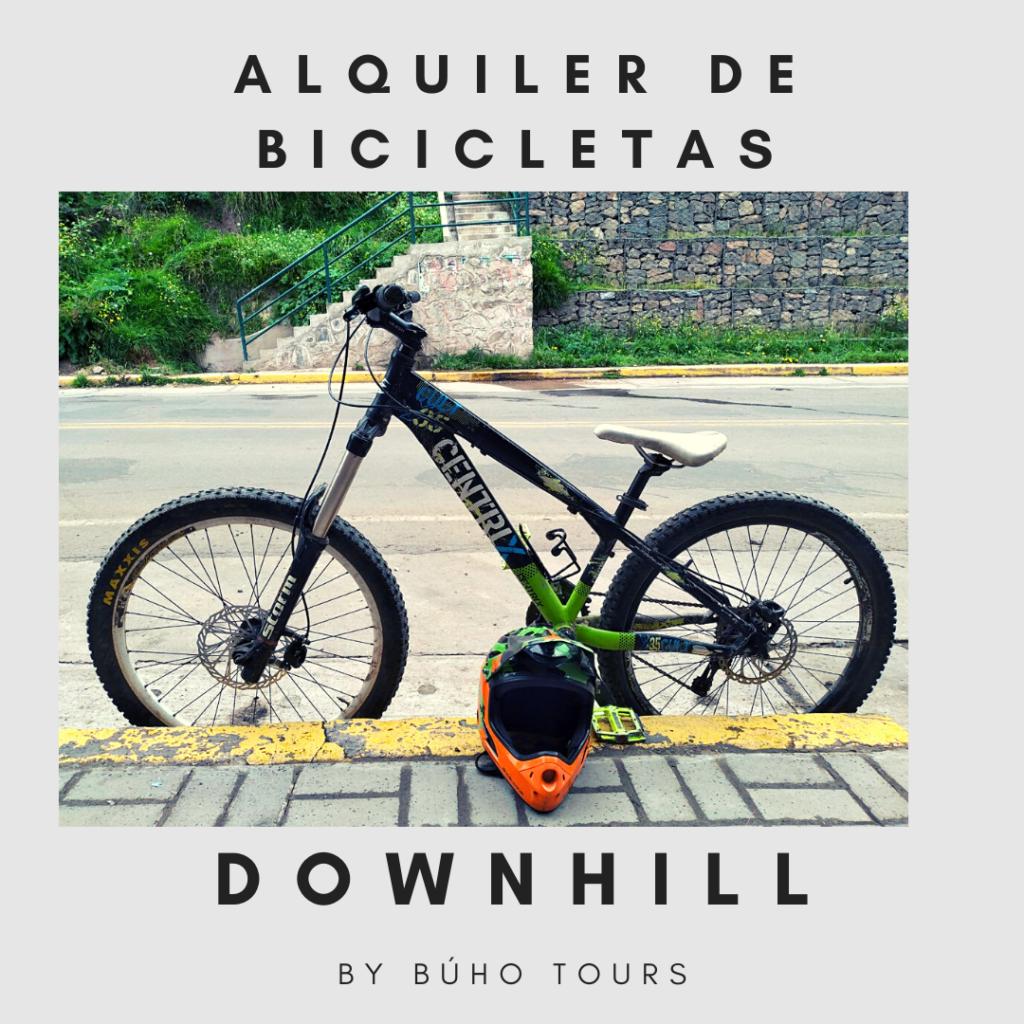 ALQUILER DE BICICLETAS CUSCO DOWNHILL